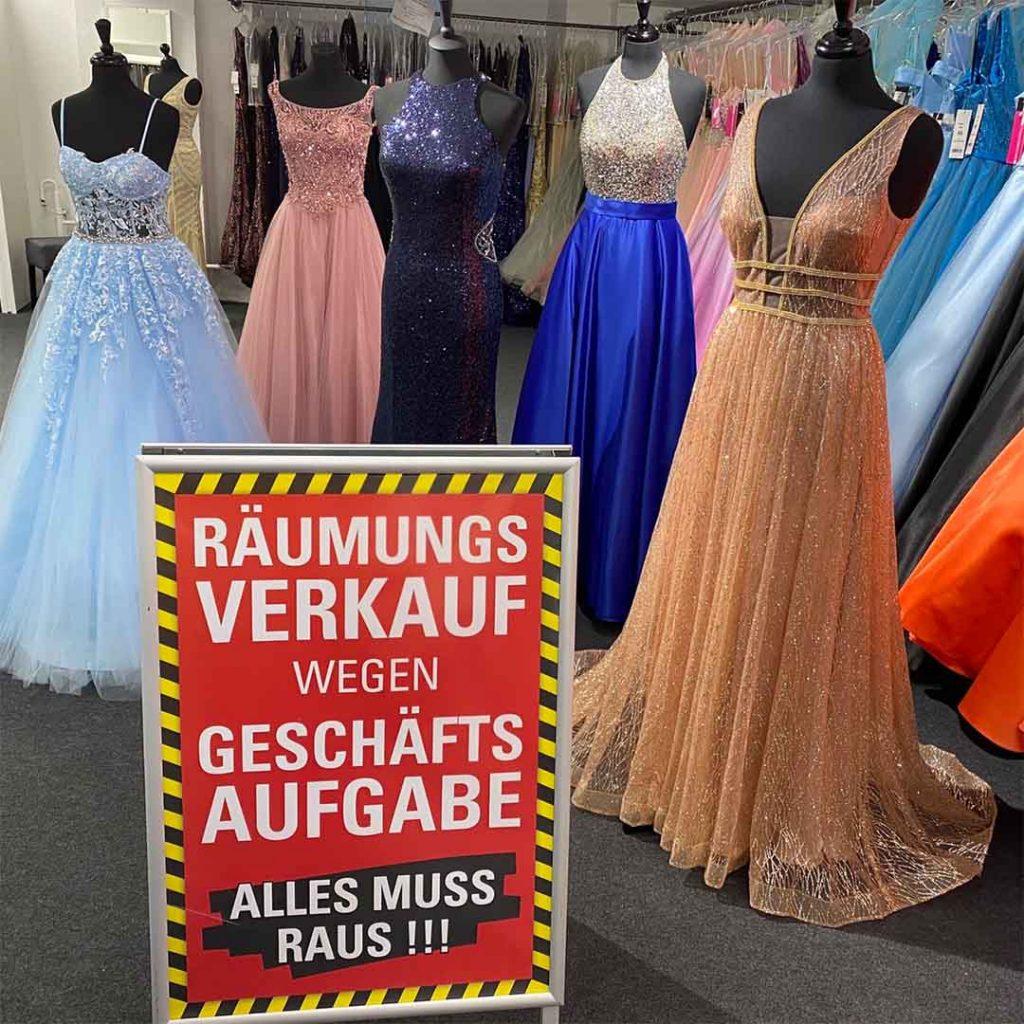 Abendkleider & Abiballkeilder-Factory Store im QF Dresden